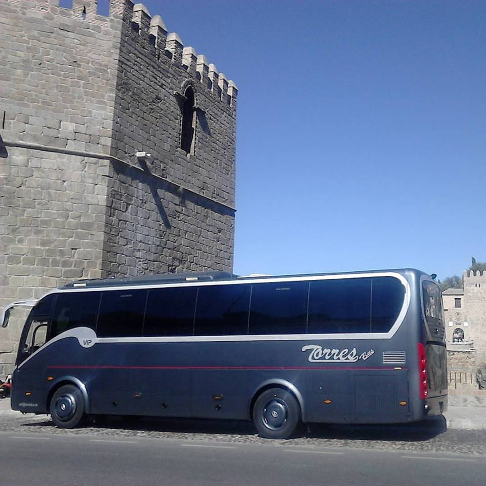Rent minibus with driver in Madrid