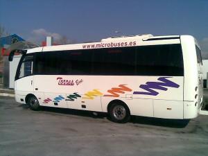 Alquiler de microbus con conductor en Madrid