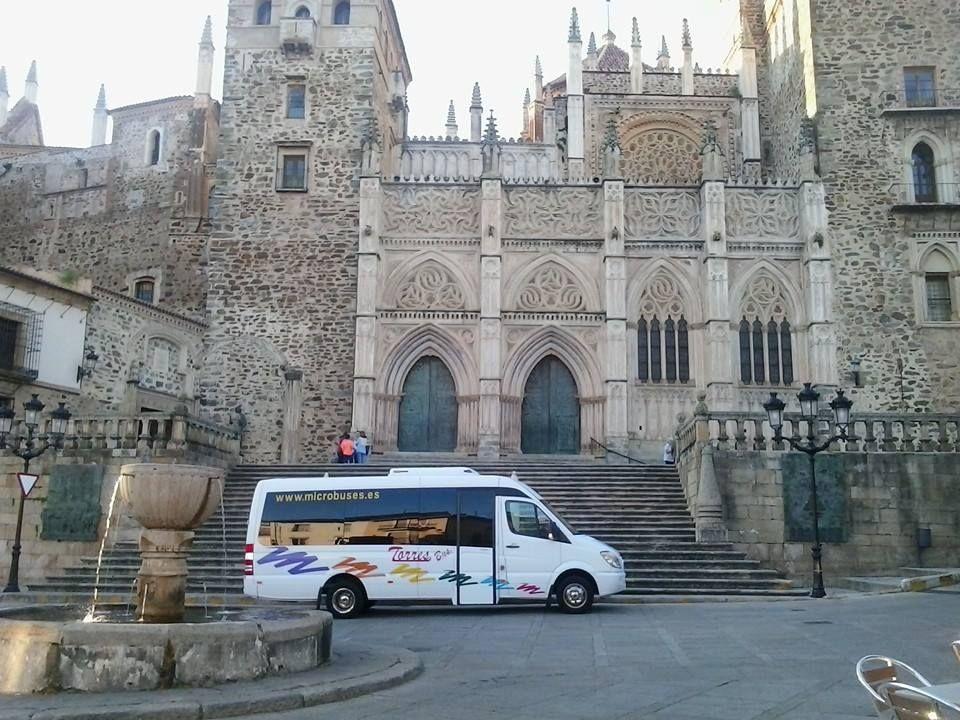 microbuses alquiler 16 plazas en Madrid y Toledo