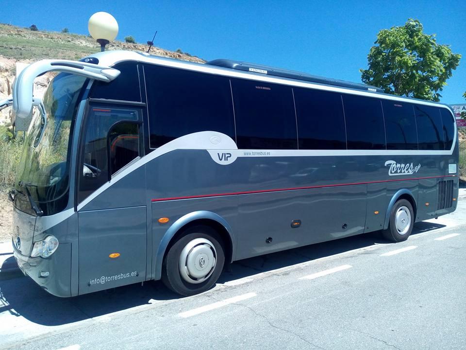 alquiler autobuses y autocares en madrid empresa de transporte